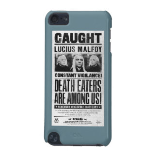 Lucius Malfoy Wanted Poster iPod Touch 5G Case