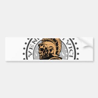 Lucius Voreno, a famous Roman Centurion Bumper Sticker