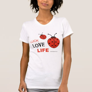 Luck Love Life singlet T-Shirt