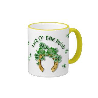 Luck O The Irish Coffee Mug