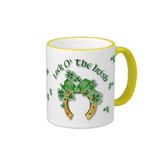Luck O' The Irish Ringer Mug