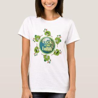 Luck o' the Irish - Shamrocks around the Globe T-Shirt