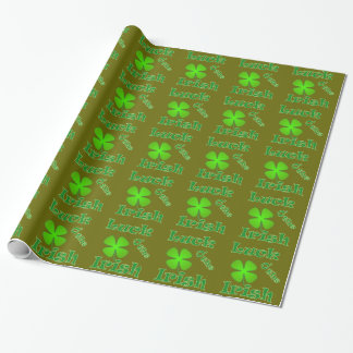 Luck o the Irish - St Patricks Day Wrapping Paper