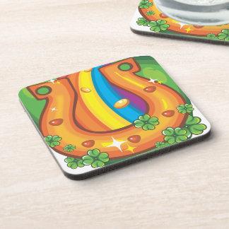 Luck of the Irish Beverage Coasters