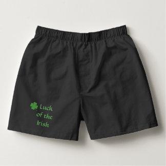 Luck of the Irish Boxers