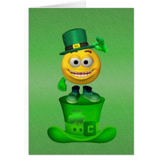 Luck of the Irish Card