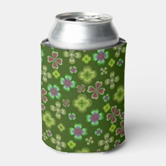 Luck of the Irish Clover Shamrock Can Cooler