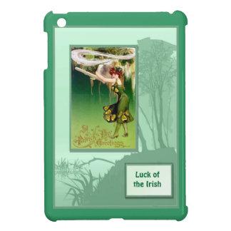 Luck of the Irish - Irish colleen iPad Mini Cases