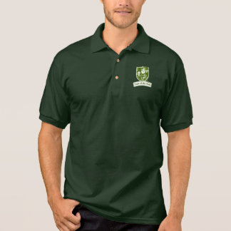 Luck of the Irish Leprechaun Polo Shirt