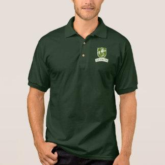 Luck of the Irish Leprechaun Polo Shirt