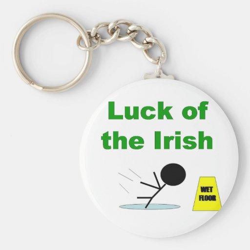 Luck of the Irish.png Key Chain