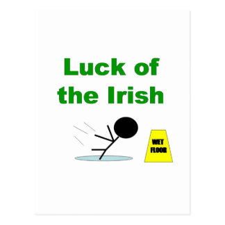 Luck of the Irish.png Postcard