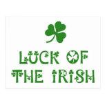Luck of the Irish Post Card