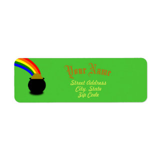 Luck of the Irish Return Address Labels