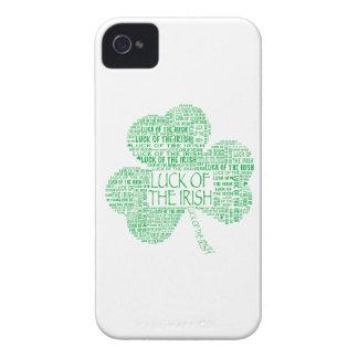 Luck of the Irish Shamrock iPhone 4 Case-Mate Case