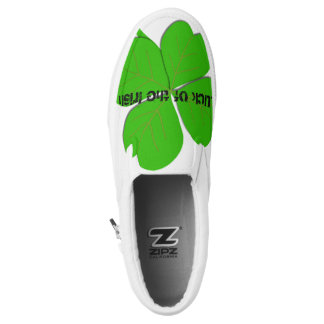 Luck of the Irish Slip On Shoes Printed Shoes