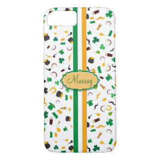 Luck of the Irish- St. Patrick's day irish items iPhone 7 Case