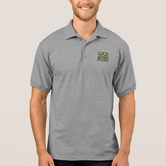 Luck of the Irish St Patrick's Day Polo Shirt