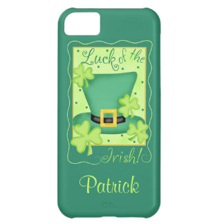 Luck of the Irish St. Patrick's Name Personalized iPhone 5C Case