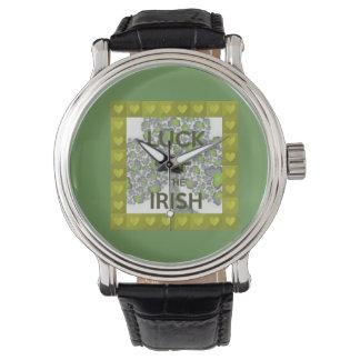luck of the irish watch