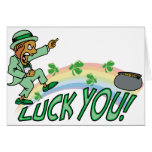 Luck You! Greeting Card