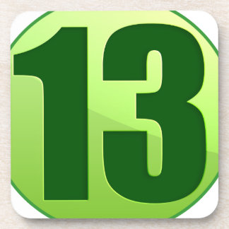 LUCKY 13 GREEN PRODUCTS COASTER