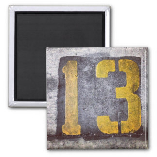 Lucky 13 Magnet