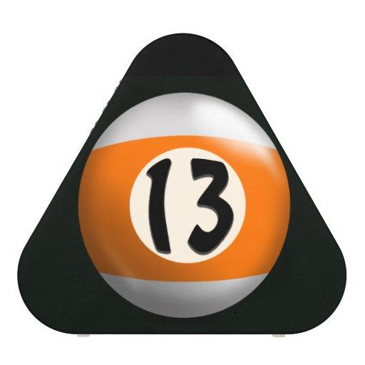 Lucky 13 Pool Ball Bluetooth Speaker