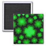 Lucky 23 Four Leaf Clover Magnet