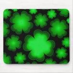 Lucky 23 Four Leaf Clover Mousepad