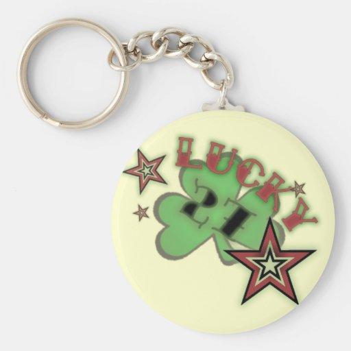 lucky 27 key chain