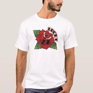 lucky 27 rose T-Shirt
