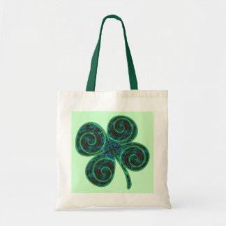 Lucky 4 Leaf Clover Bags