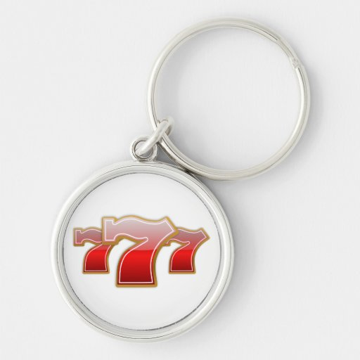 Lucky 7 keychains