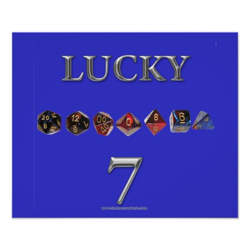 Lucky 7 posters