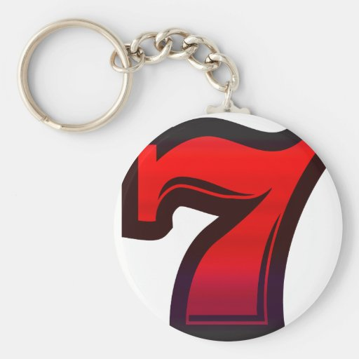 Lucky 7s keychain