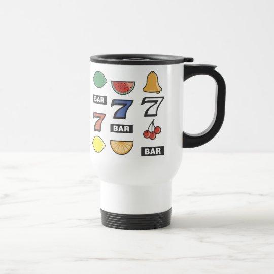 Lucky 7's travel mug