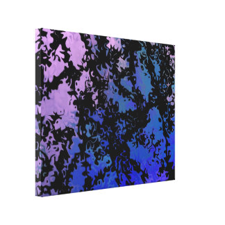 Lucky abstract piece 7.23 stretched canvas prints