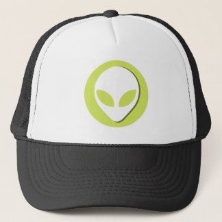 Lucky Alien (Green) Trucker Hat