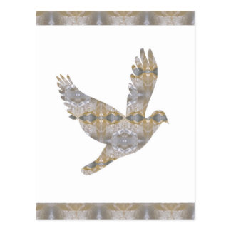 Lucky Angel Bird CRYSTAL Jewel NVN448 kids LARGE Postcard