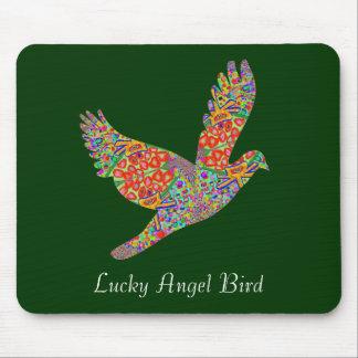 LUCKY Angel Bird Mouse Mat