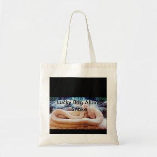 Lucky Bag Albino Snake