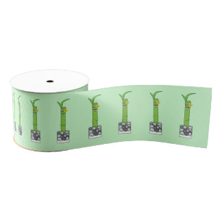 Lucky Bamboo Grosgrain Ribbon