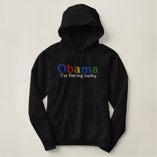 Lucky Barack Obama Embroidered Shirt