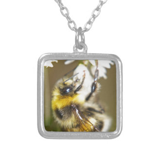 Lucky Bee Silver Plated Necklace
