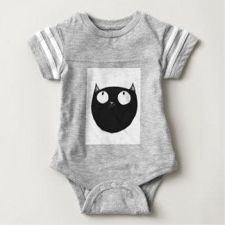 Lucky Black Cat Baby Bodysuit