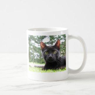Lucky Black Cat Coffee Mug