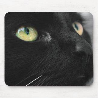 Lucky Black Cat Mouse Mat