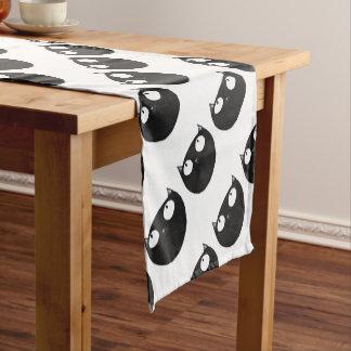 Lucky Black Cat Short Table Runner