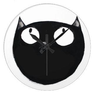 Lucky Black Cat Wall Clocks